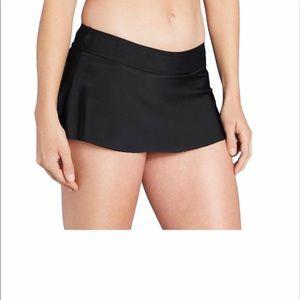 Kona Sol Black Swim Skirtini Size Medium